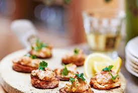 dining canapes recipes and easy canapé recipes delicious magazine