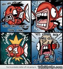 Pokemon Funny Memes - it s over 9 magikarp know your meme