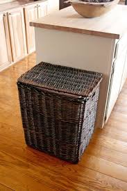 kitchen trash can ideas best 25 kitchen trash cans ideas on trash can cabinet