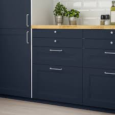 ikea blue kitchen cabinets axstad drawer front matte blue 30x15 ikea in 2021