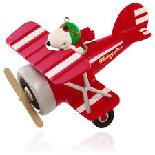 2015 snoopy flying ace hallmark keepsake ornament hooked on