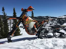 motocross snow bike horsepower secret big bores are they the ticket for snowbikes