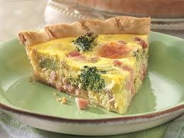 cuisine quiche ham and broccoli quiche recipe food