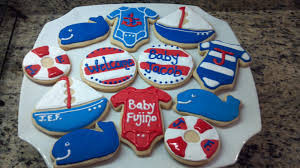 sweet treats by angie baby shower cookies
