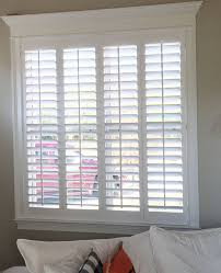 Craftsman Style Window Treatments Beautiful Home Trim Work And Our Plantation Shutters Don U0027t
