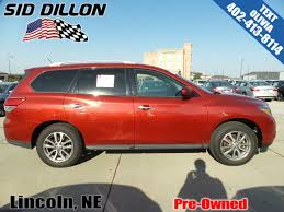nissan altima for sale lincoln ne pre owned 2014 nissan pathfinder sv suv in lincoln 4n17756a sid