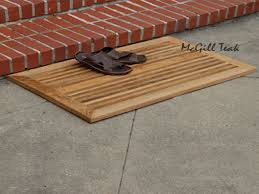Teak Shower Mat Wood Mat Wood Outdoor Door Mat Teak Wood Shower Mat Interior