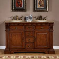 Furniture Style Bathroom Vanities Home 55 Inch Furniture Style Sink Bathroom Vanity