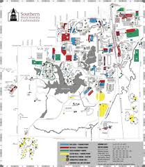 University Of Illinois Campus Map by Southern Illinois University Carbondale Maplets