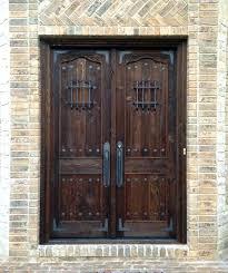 Solid Exterior Doors Solid Wood Exterior Front Doors 8libre