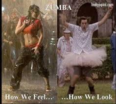 Zumba Meme - leaky squid reality of zumba dancing zumba
