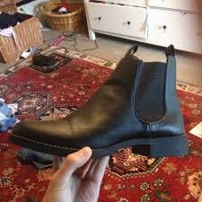 womens boots h m 50 h m boots h m black chelsea boots from s closet on