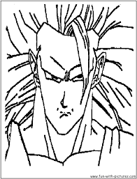 dragonballz coloring pages free printable colouring pages for