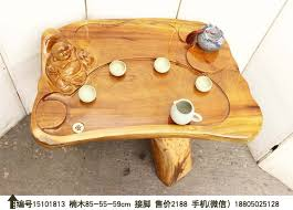 Gold Coffee Table Tray by Gold Phoebe Whole Root Carving Wood Coffee Table Tea Table Parlor