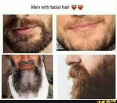 Facial Meme - men with facial hair know your meme