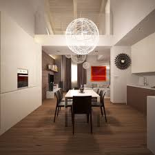 Modern Dining Light by Apartments Contemporary Apartment Kitchen Design White Maple