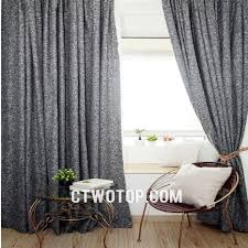 black cool modern contemporary living room cheap linen curtains