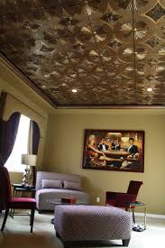 Decorative Ceiling Light Panels Colonial Faux Tin Ceiling Tiles Rona Modern Ceiling Design