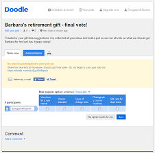 doodle poll ifneedbe with doodle s free voting software voting has never been