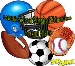 spark middle physical education pe lesson plans http