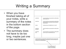 What Is The Summary In A Resume How To Take Cornell Notes