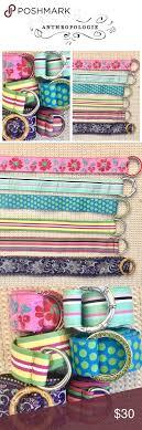 preppy ribbon belts 6 ribbon belts bundle nwot ribbon belt and anthropologie