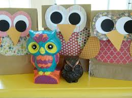 owl gift bags fun family crafts