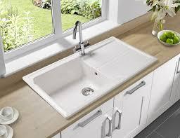 B And Q Kitchen Cabinets Kitchen Sink Ceramic 12496
