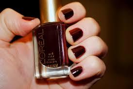 the perfect oxblood nail l u0027oréal nail color riche u0027haute couture