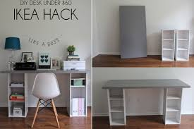 Office Desk Diy Diy Desk Designs You Can Customize To Suit Your Style Desks