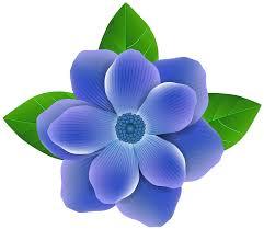 blue flower blue flower png clip image gallery yopriceville high