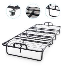 Folding Bed With Mattress Diplomat Folding Bed With Memory Foam Mattress And Wire Lattice