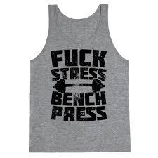 Top Bench Press Stress Bench Press Tank Tops Human
