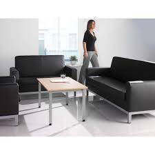 Black Leather Armchairs Como Contemporary Single Seat Black Leather Office Armchair