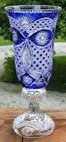 Crystal Gifts Stemware Vases Rare Colors European Hand Cut Cased Crystal Vase Victoria 19