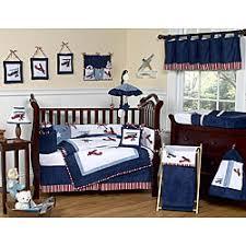 Airplane Crib Bedding Geenny Airplane Aviator 13 Crib Bedding Set Free Shipping