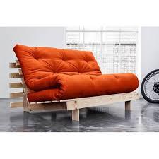 canap convertible orange canapé convertible au meilleur prix canapé bz style scandinave