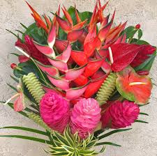 flowers arrangements best of kauai tropical flower arrangement features lots of