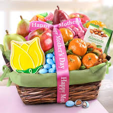 mothers day basket s day fruit and treats basket aa4050m a gift inside