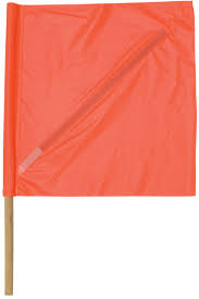 Plastic Flags Vinyl Safety Flag With Plastic Stiffener Safety Equipment