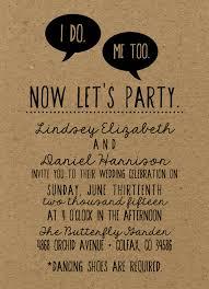 Funny Wedding Programs Weddinginvites Greenwedding Letsdoit Gorgeous Simple Card