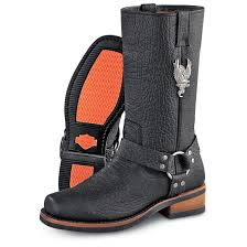 harley motorcycle boots men u0027s harley davidson bison harness boots black 20888