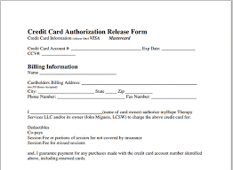 Credit Release Form Ach Form Template Resumess Franklinfire Co