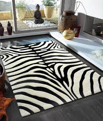 Black And White Modern Rugs Black And White Zebra Rug Home Design Ideas And Pictures
