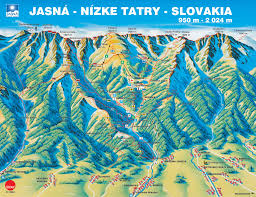 Slovakia Map Amazing Slovakia Com Ski Park Jasna In Low Tatras Slovakia