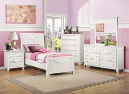 White Girls Bedroom Furniture Youth Bedroom Collections Courtyard Garden And Pool Designs