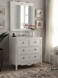 adelina 34 inch vintage bathroom vanity distressed antique white
