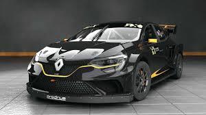 mobil balap f1 ini mobil balap terbaru dari prodrive renault megane rx rallycross