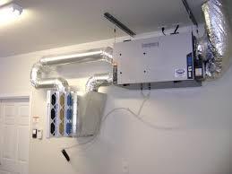 basement ventilation system with blue tube u2014 new basement and tile