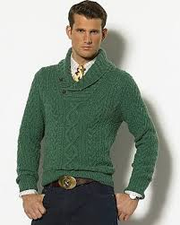 dress for success with this stylish ralph lauren cable knit shawl